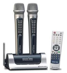Entertech karaoke microphone